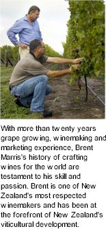 About the Brent Marris Winery