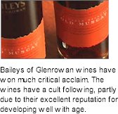About Baileys Glenrowan Wines