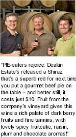 About the Deakin Estate Winery