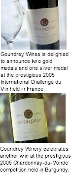 About the Goundrey Winery