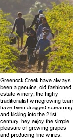 About Greenock Creek Wines