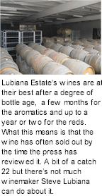 More on the Stefano Lubiana Winery