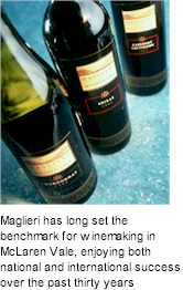 More About Maglieri Wines