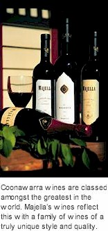 More About Majella Wines