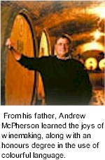 More About McPherson Wines