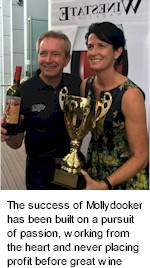 About the Mollydooker Winery