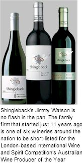 More About Shingleback Wines