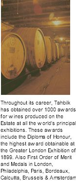 More About Tahbilk Wines