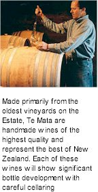 More About Te Mata Wines