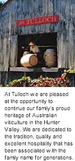 About Tulloch Winery