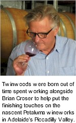 About the Twinwoods Winery