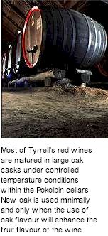 More on the Tyrrells Winery