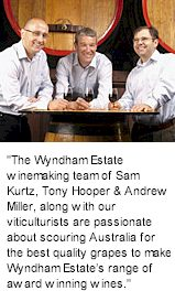 About Wyndham Wines