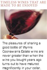 More on the Wynns Winery