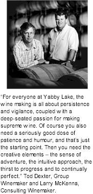 About Yabby Lake Winery