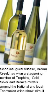 About Bream Creek Wines