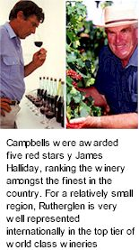 More About Campbells Wines
