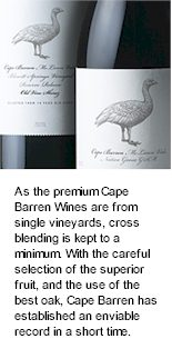 About the Cape Barren Winery