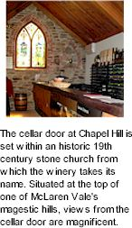 More About Chapel Hill Wines