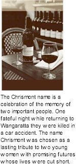 About Chrismont Wines