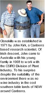 More About Clonakilla Winery