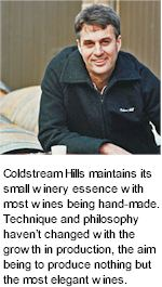 More on the Coldstream Hills Winery