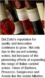 About Dal Zotto Estate Wines