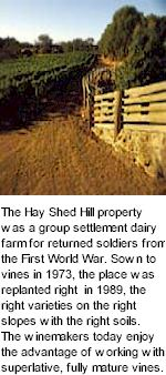 About Hay Shed Hill Winery