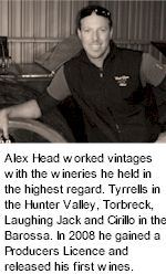 More About Alex Head Wines