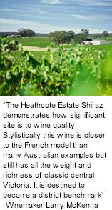 More About Heathcote Estate Winery