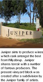 More About Juniper Estate Winery