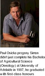 More About Paul Osicka Wines