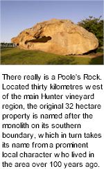 More on the Pooles Rock Winery