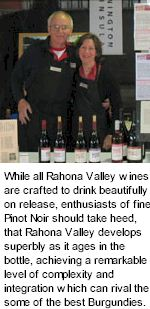 More About Rahona Valley Winery