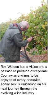 About the Rex Watson Winery