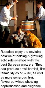 More About Rosedale Winery