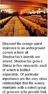 About Shadowfax Wines