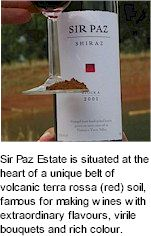 About the Sir Paz Winery