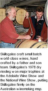 About the Skillogalee Winery