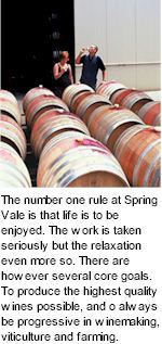 About Spring Vale Winery