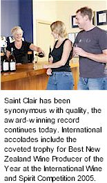 More About Saint Clair Winery