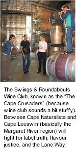 More About Swings Roundabouts Winery