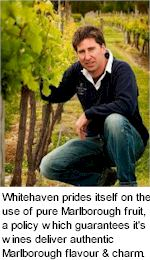 About the Whitehaven Winery