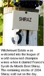 About Witchmount Wines