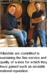 More About Allandale Winery