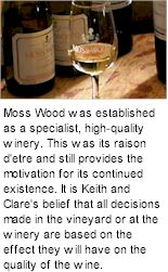 About the Moss Wood Winery