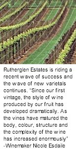 About Rutherglen Estates Wines