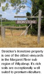 More About Streicker Wines