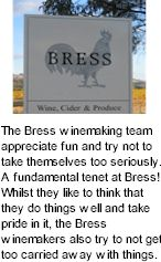About the Bress Winery
