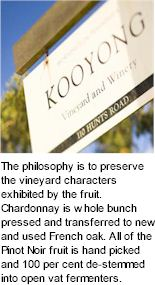 More About Kooyong Estate Wines